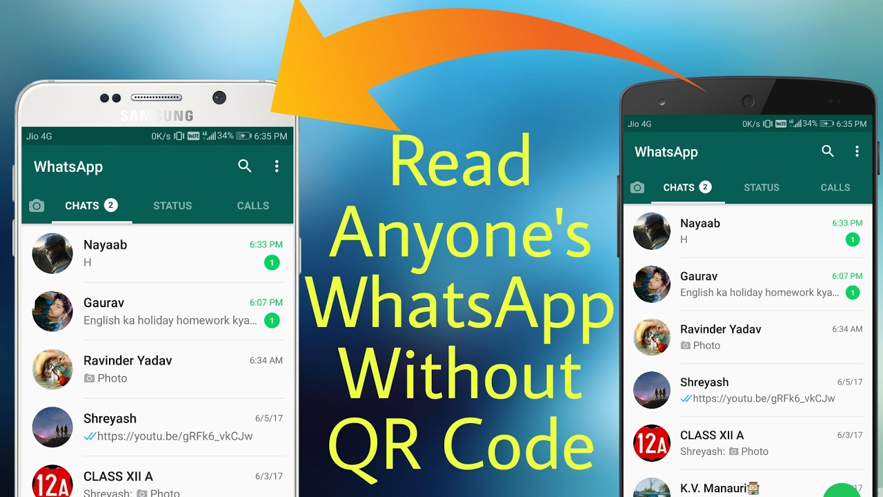 How To Hack Someone WhatsApp Without Scanning QR Code in Android and iOS 2017 #2 (no root) 9