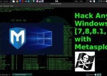 Beginners Guide to Hacking Windows 7/8/8.1/10 [Metasploit] 9