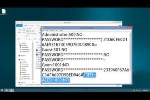 How to Hack windows password-john the ripper-windows 10,8.1,8,7,XP 6