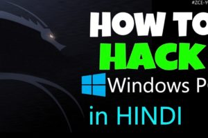 [HINDI] How to Hack Windows PC using kali linux 1