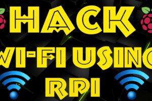 Hack Wi-Fi Using Raspberry Pi || PNPtutorials 10