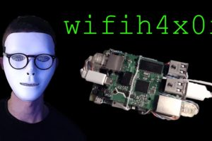 wifih4x0r - Remote Controlled Portable Hacking Computer with Raspberry Pi 3 9