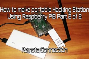 Mobile Hacking Station Using Raspberry Pi 3 (Part 2 Of 2) Step by Step Tutorial 6