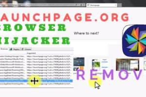 Remove browser hijacker from Chrome, Firefox, IE || Remove Launchpage.org virus 7