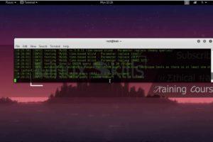 sqliv - massive SQL injection vulnerability scanner ✔ 6