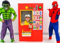 Vlad and Niki - funny toys stories with costumes for kids 7