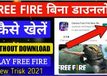 How to play free fire game without download?|Bina Download kiye free fire game kaise khele? 7