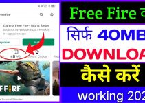 Free Fire 40 MB Me Kaise Download Kare ? How To Download Garena Free fire Game Without Less MB 2021 9