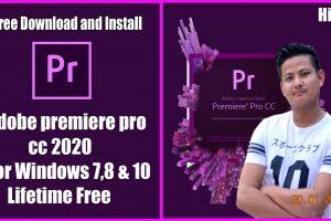 how to download adobe premiere pro for free l adobe premiere pro cc 2020 l Lifetime Free 8