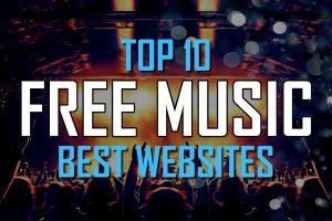 Top 10 Best FREE WEBSITES to Download Music Online! 3